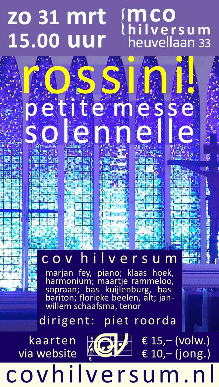 Petite Messe Solemnelle – Rossini