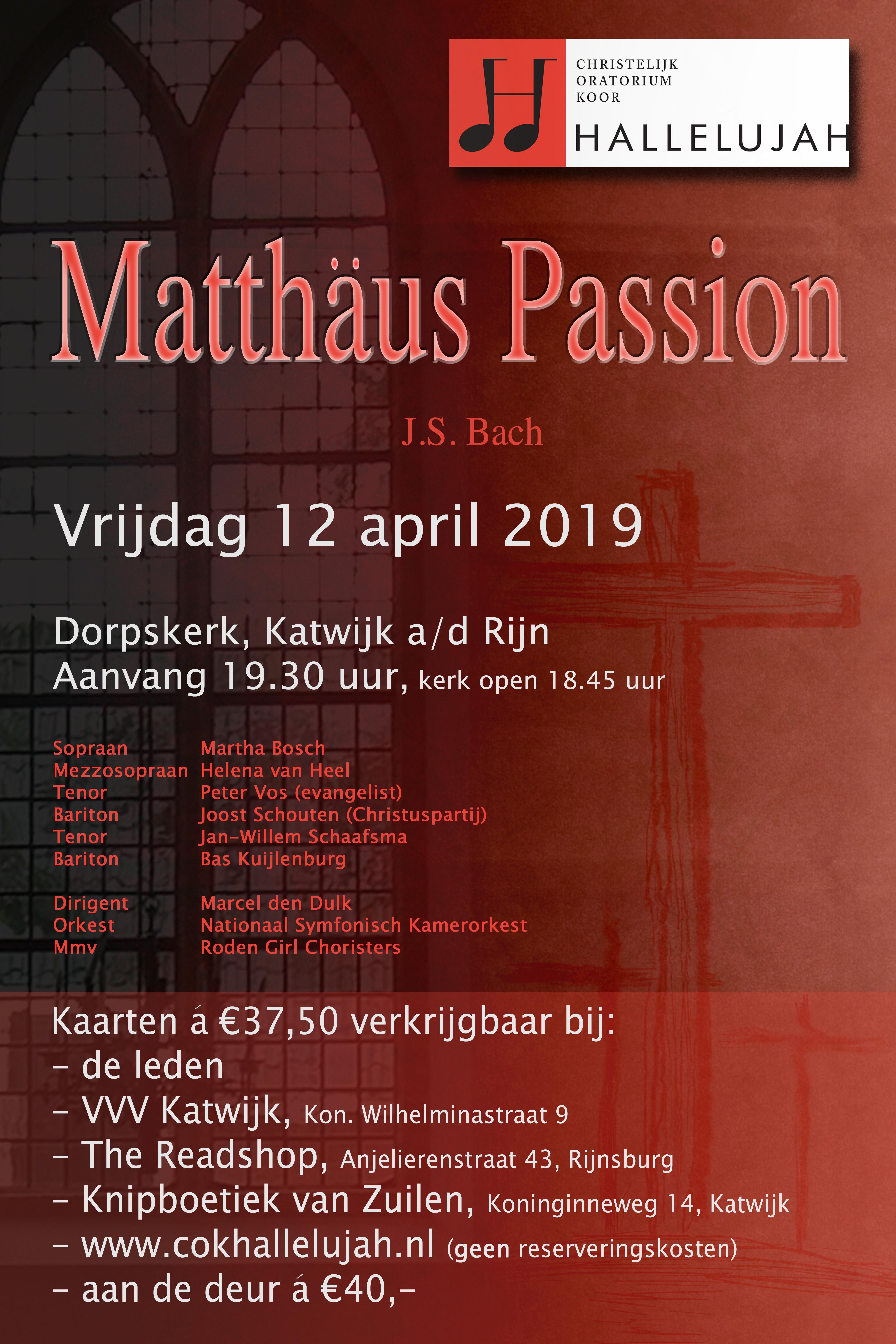 Matthäus Passion – J.S. Bach