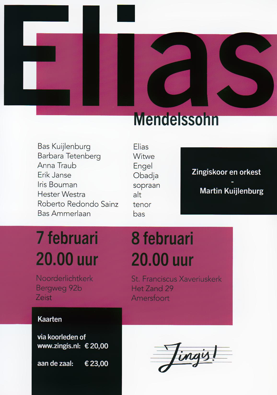 Elias – Mendelssohn
