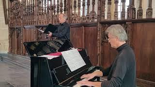 Händel en Wolf – in kerkdienst